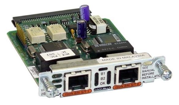 Cisco BRI VIC